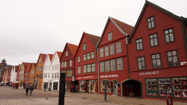 Bergen, ville de pêcheurs classée au patrimoine mondial de l'UNESCO